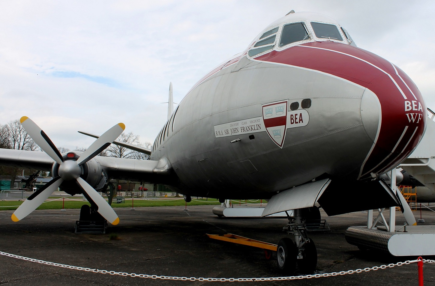 Another view of the Viscount