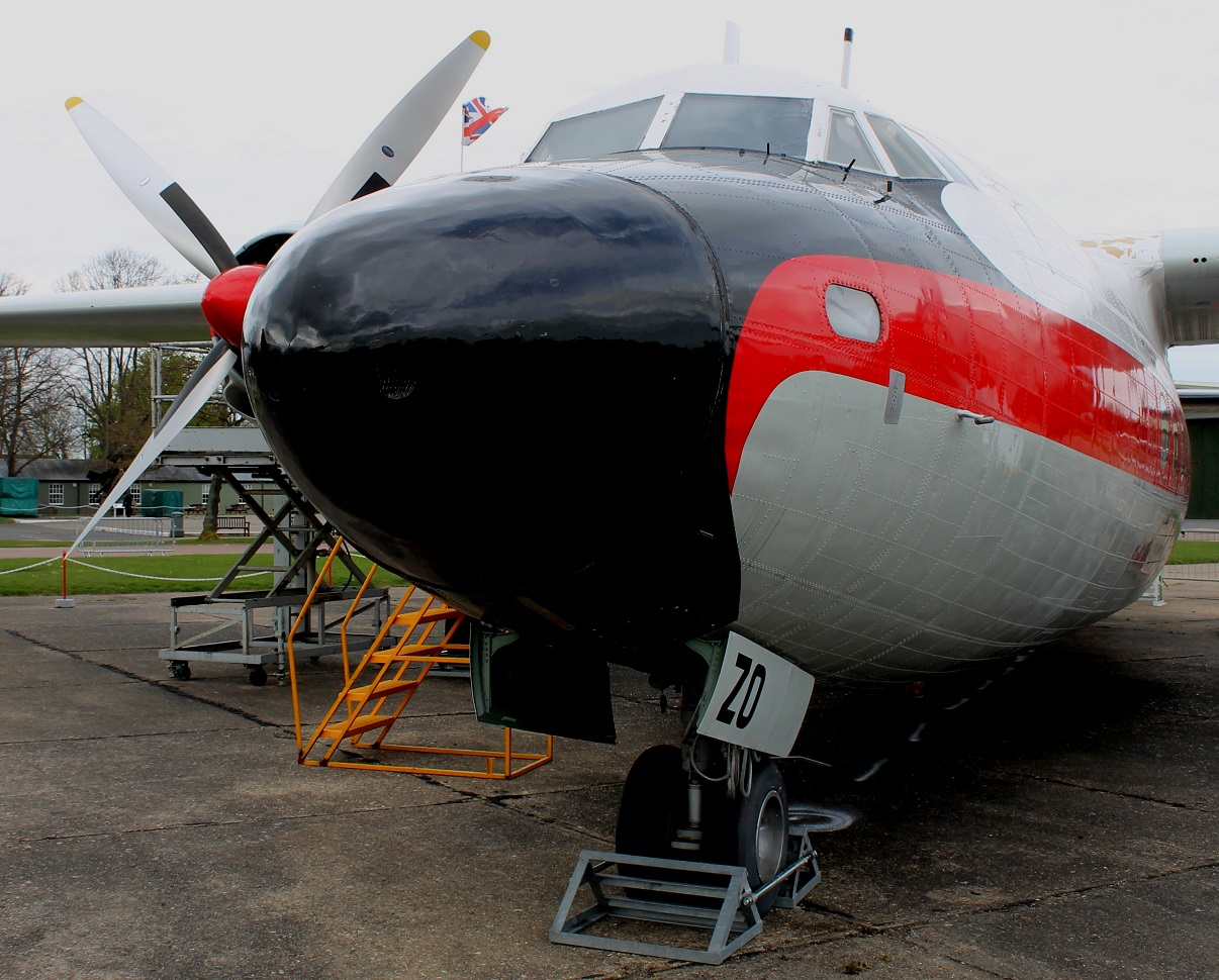 A detail of the Airspeed Ambassador