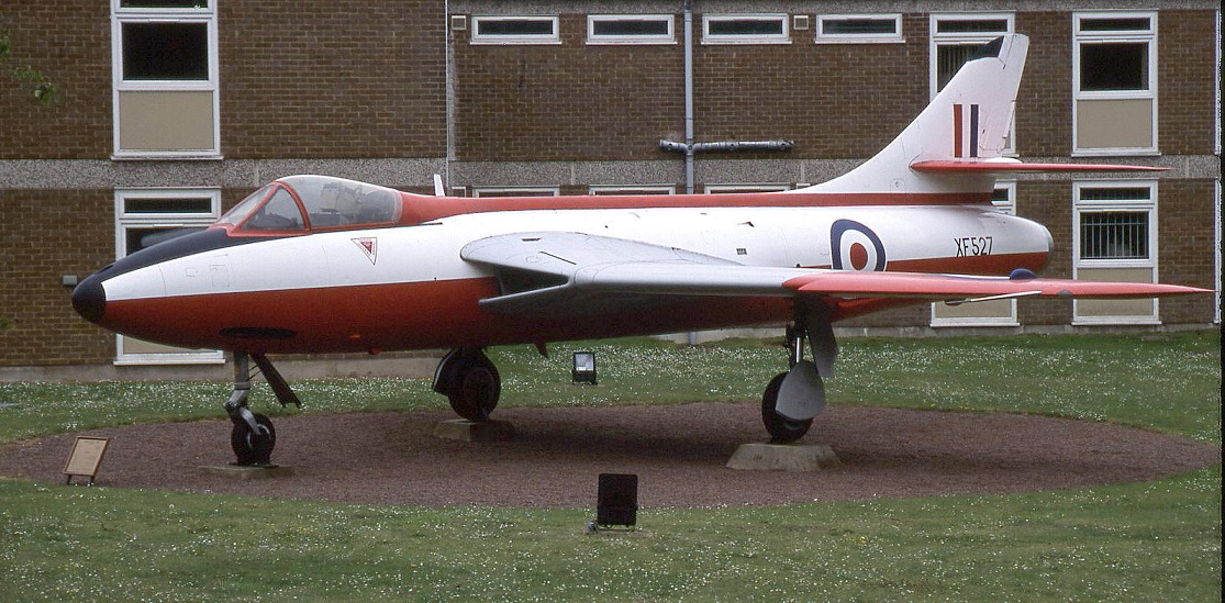 The Hawker Hunter F.6  XF527