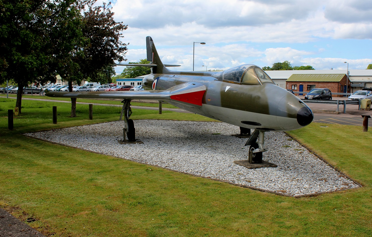 The Hawker Hunter F.1  WT612