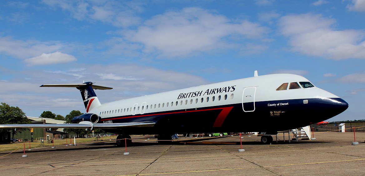 BAC One-Eleven 500 Series (G-AVMU)