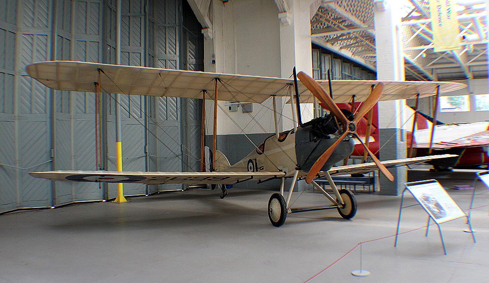 The WW1 RE.8 replica