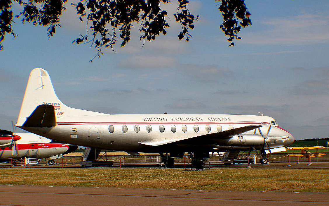 Vickers V.701 Viscount (G-ALWF)