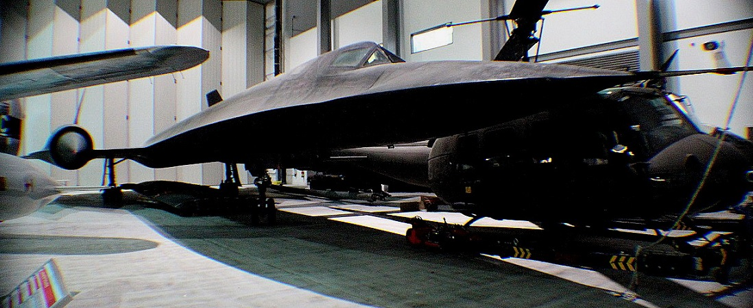 The Lockheed SR.71A Blackbird