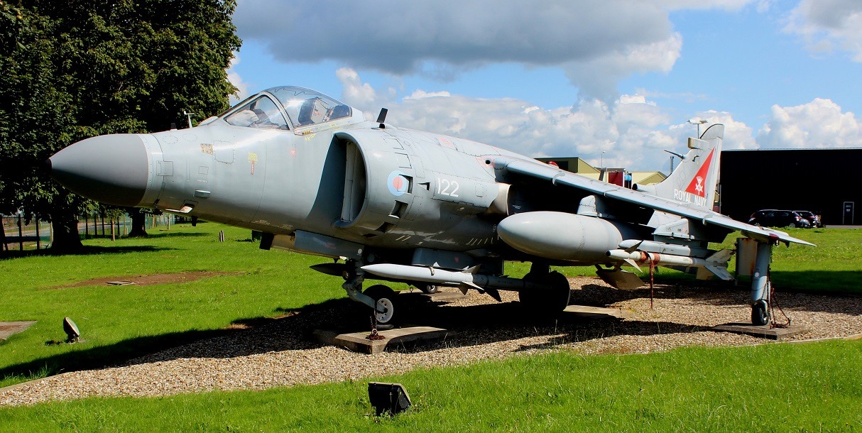 The Harrier FA.2,  ZD 578