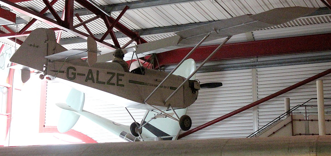 Britten Norman BN.1 (G-ALZE). The first Britten Norman aircraft