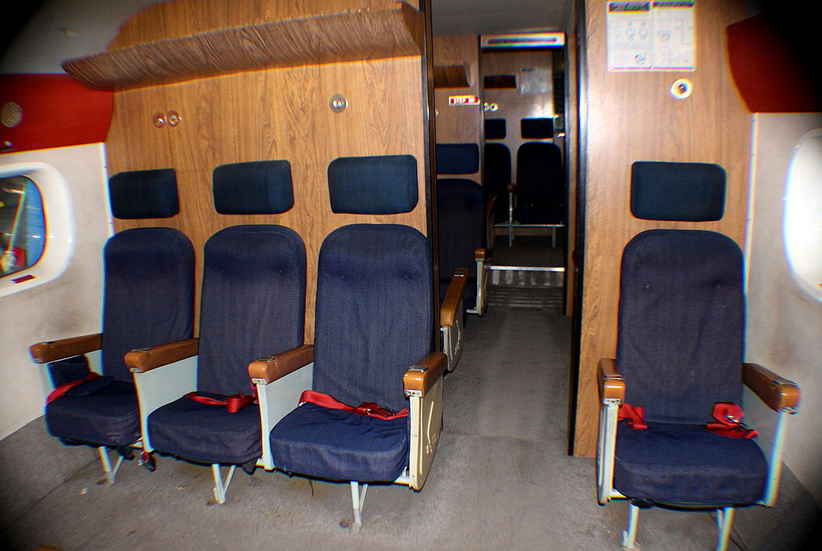 A passenger compartment in the Sandringham