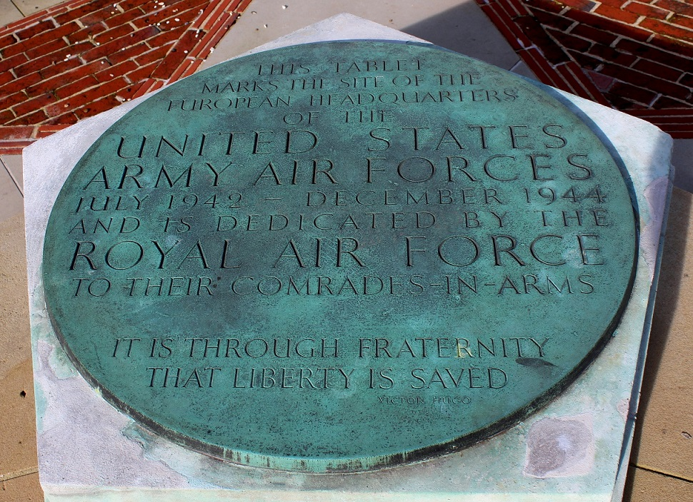Memorial detail to the SHAEF HQ