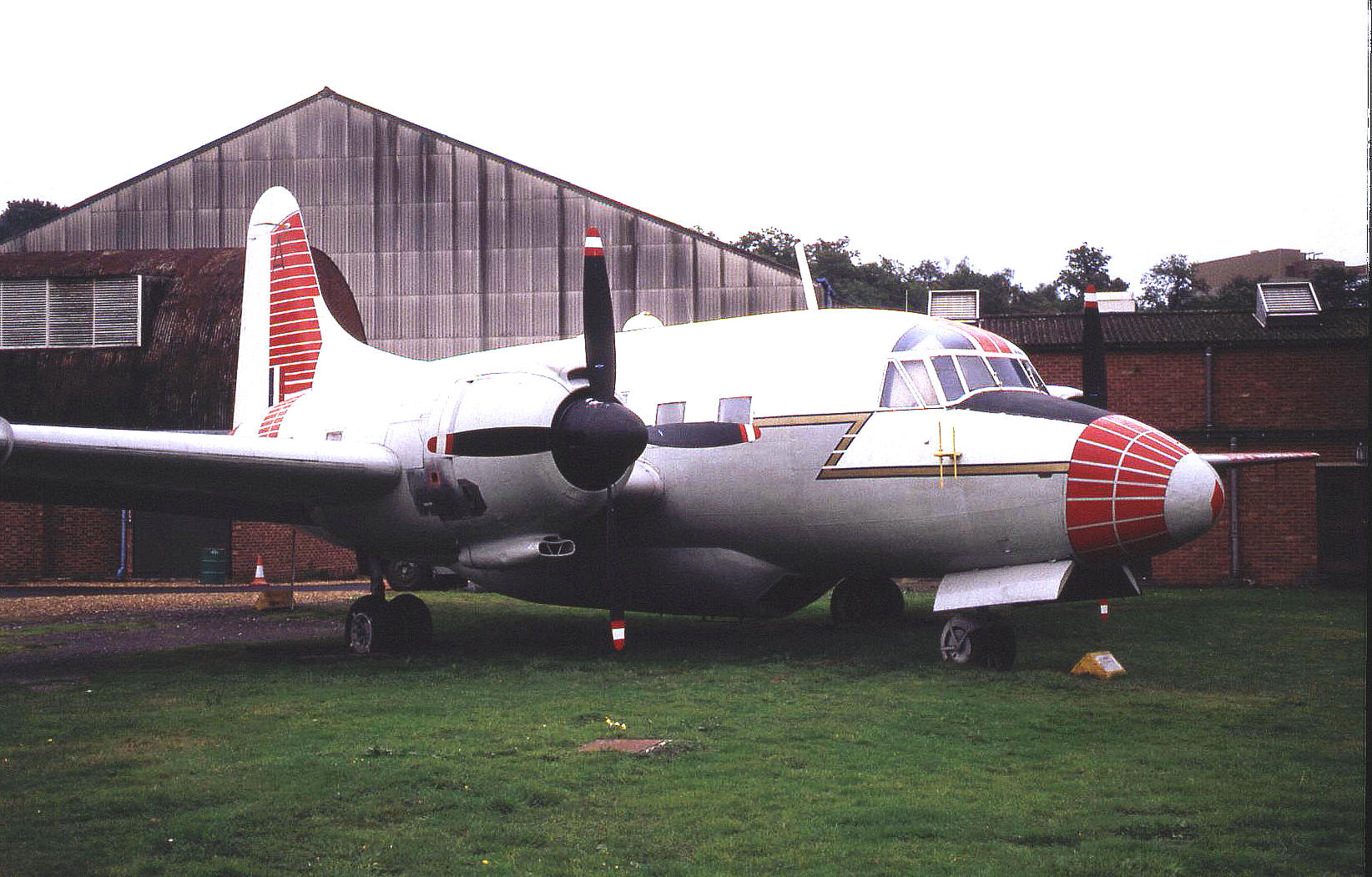 The Vickers 668 Varsity T.1 (WF372) in 1993
