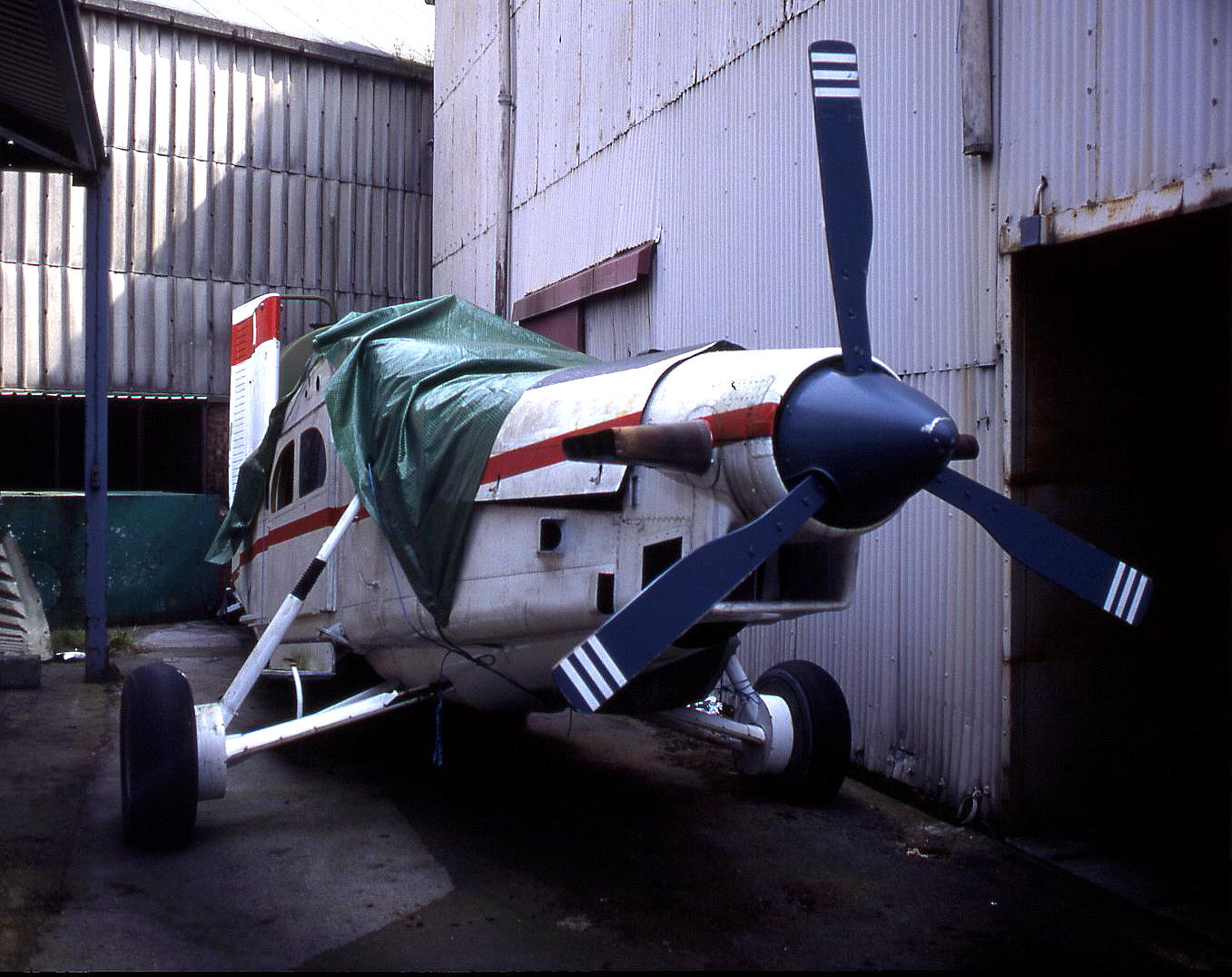 A Pilatus P.6 Porter featured in&nbsp;the James Bond movie<em> <strong>Goldeneye</strong></em>