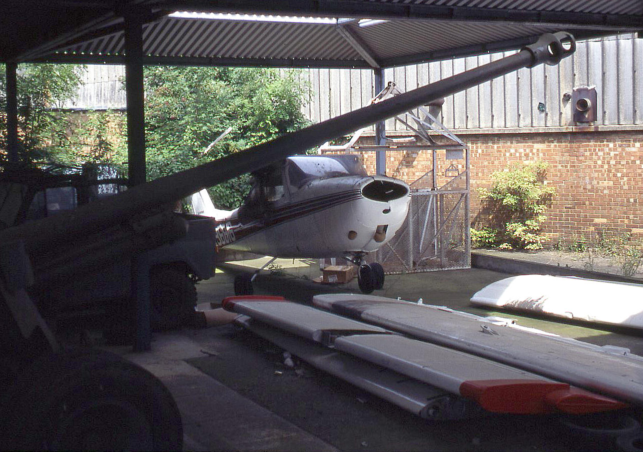 A Cessna 172 used in <em><strong>License to Kill</strong></em>