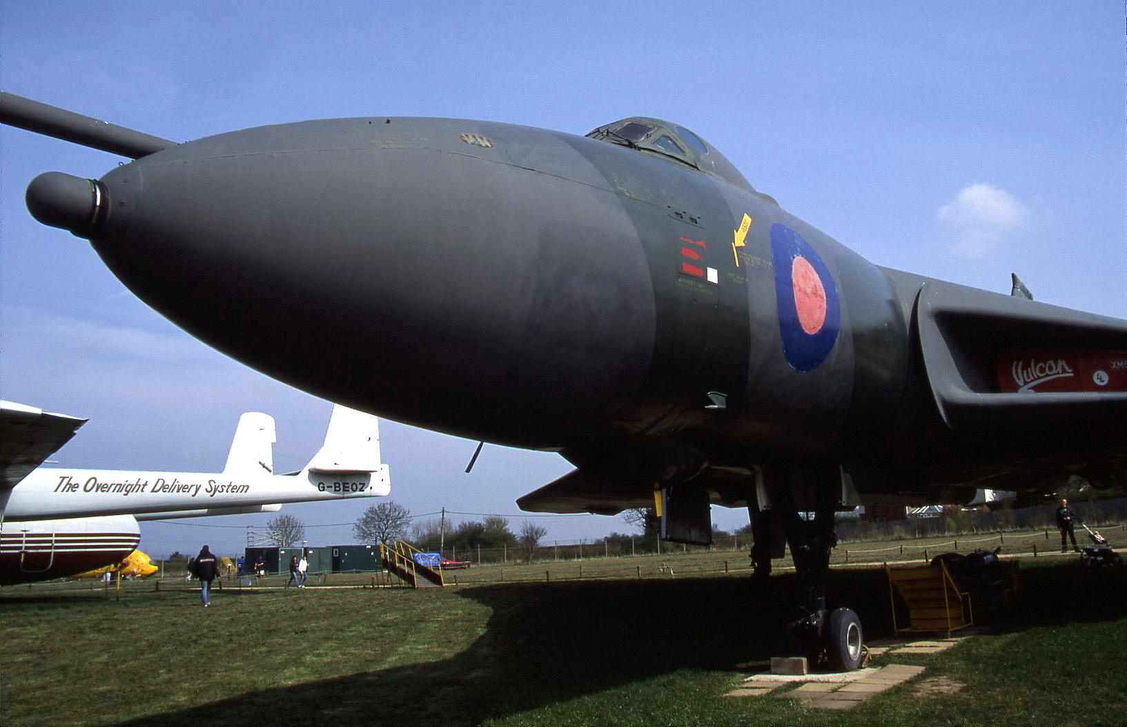 The Vulcan up close