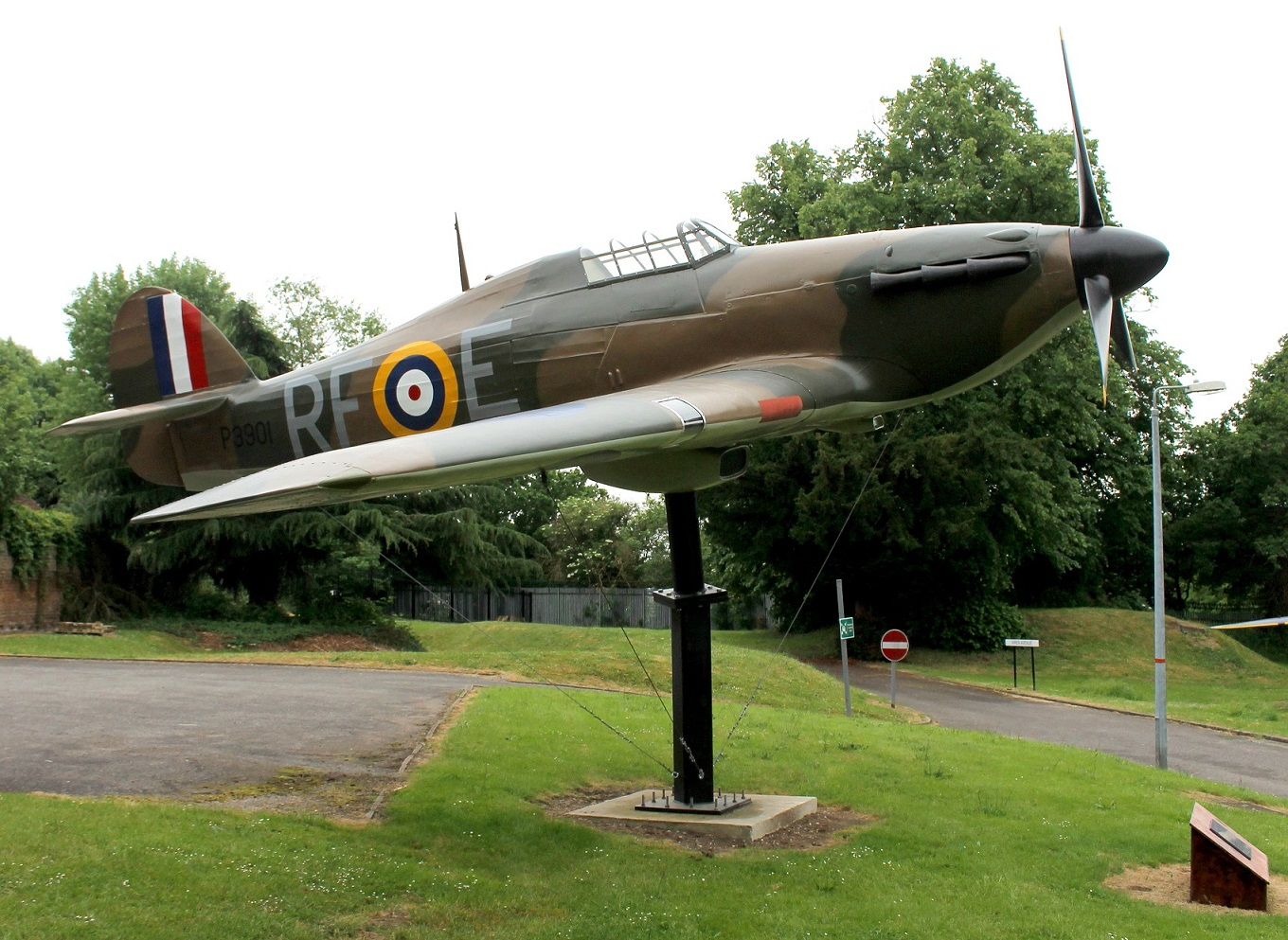 The full scale model of a Hurricane