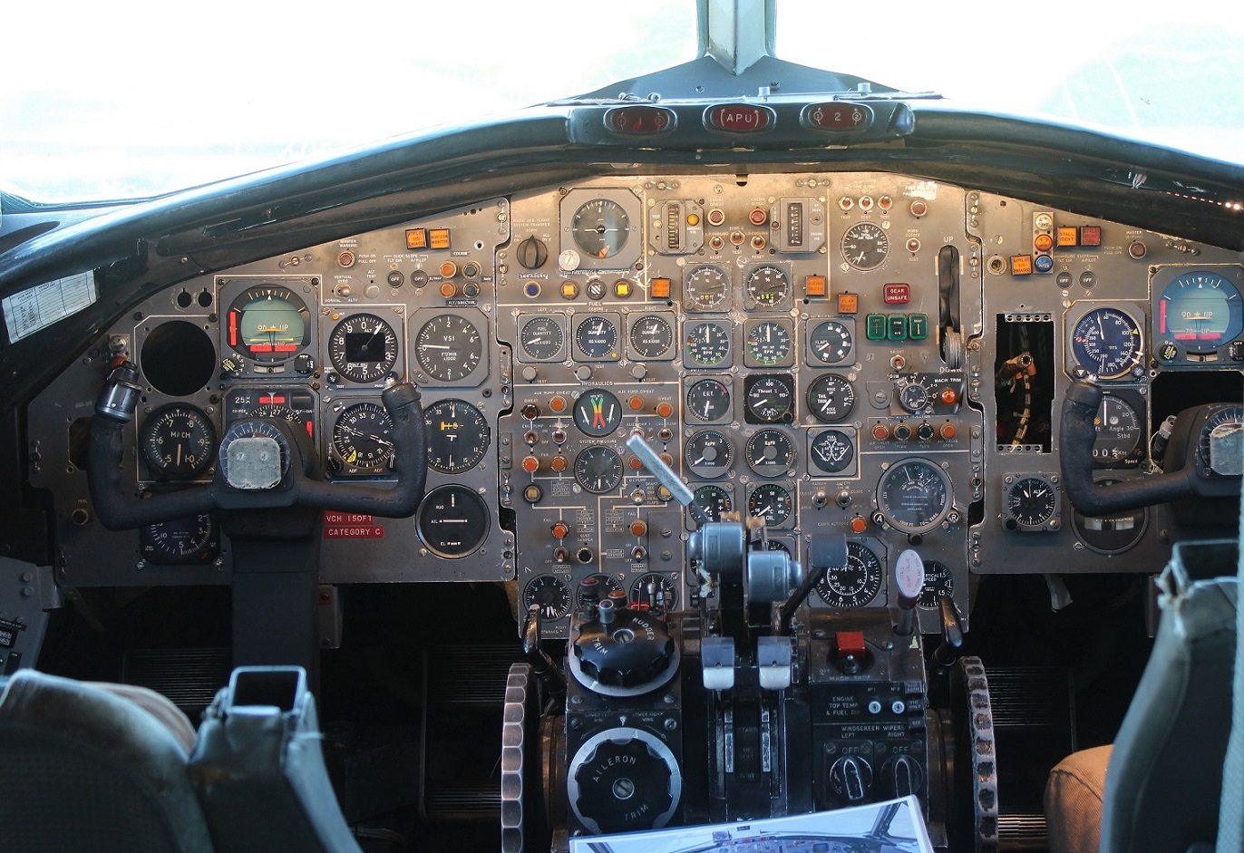 BAC One-Eleven flight-deck