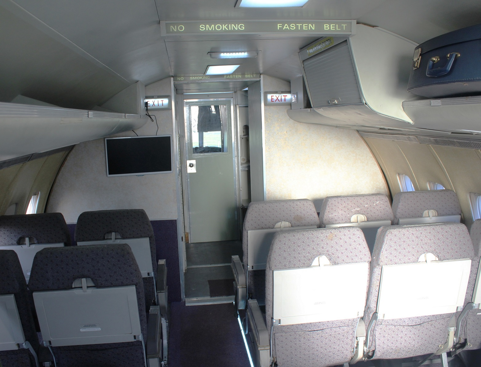 BAC One-Eleven interior