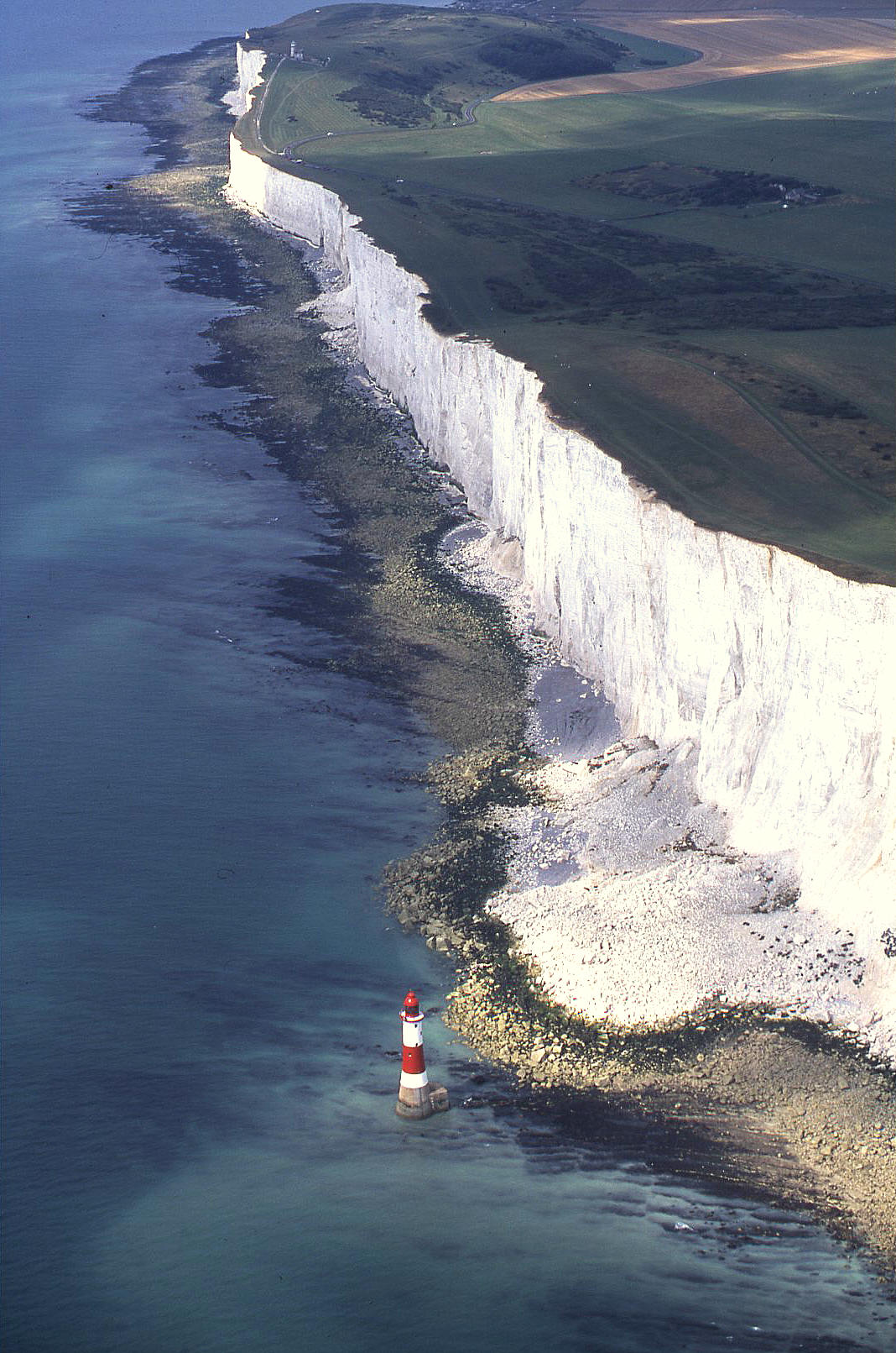 Beachy Head in 2001