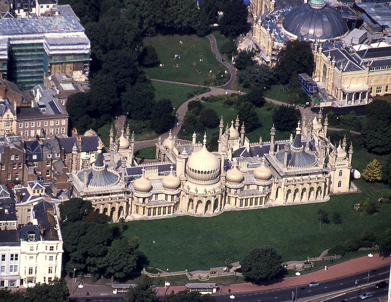 Brighton Pavillion in August 2001