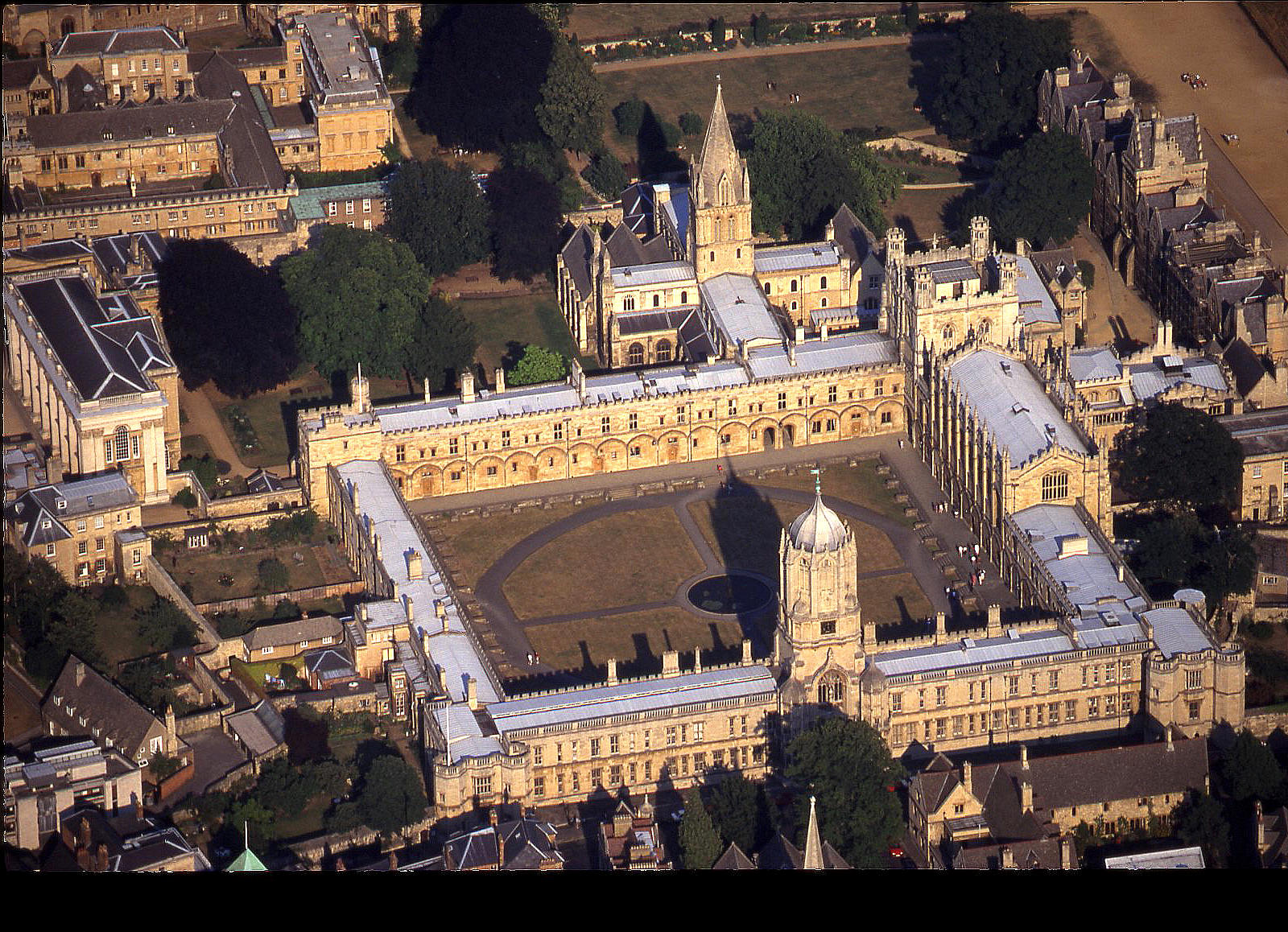 Christ Church college in Oxford
