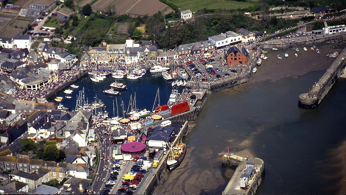 Padstow, Cornwall in May 2000