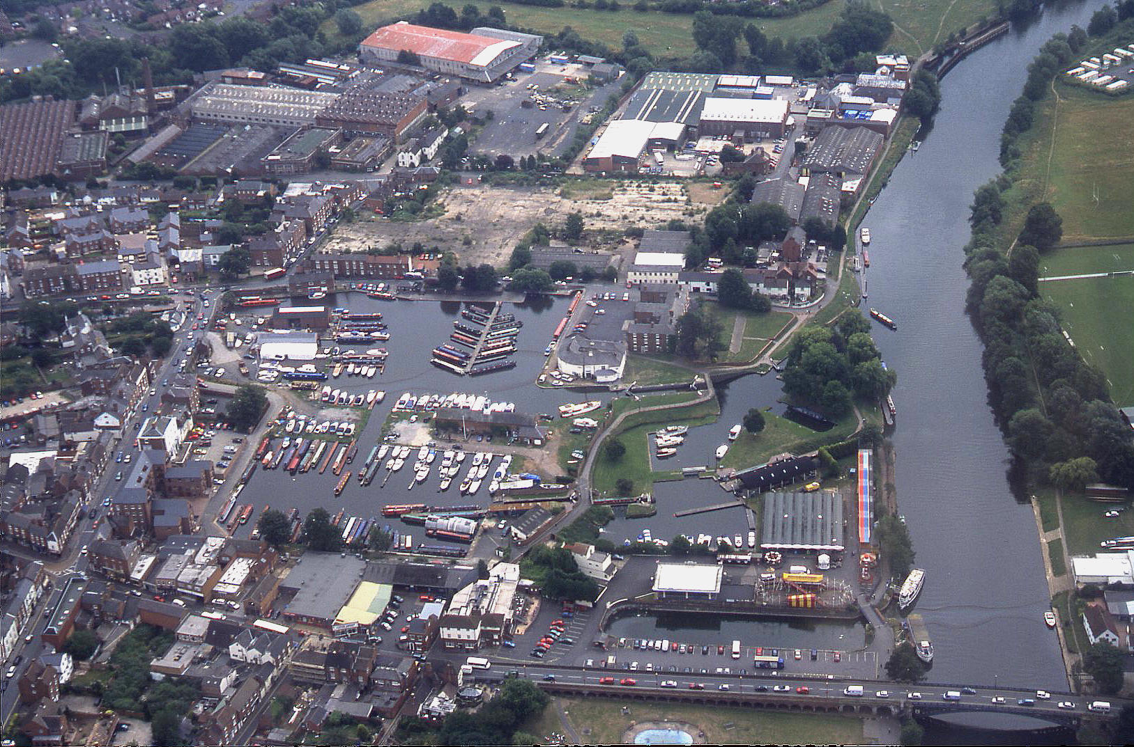 Stourport-on-Severn, Worcestershire. Circa 2003