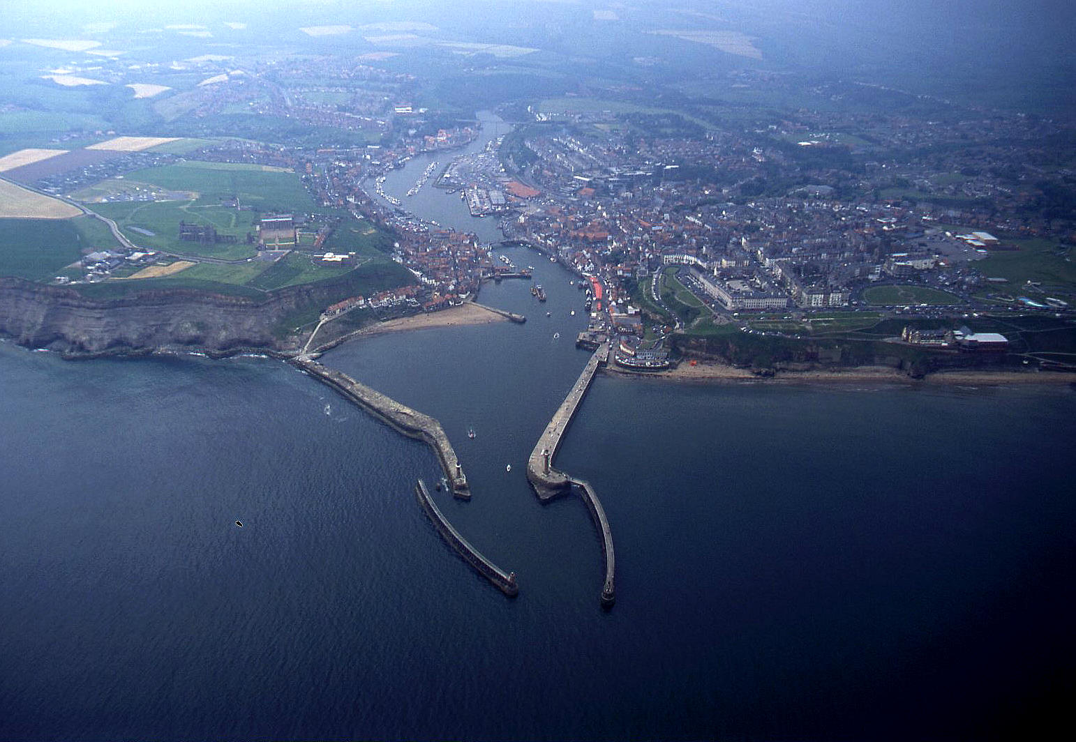 Whitby, Yorkshire in 2004