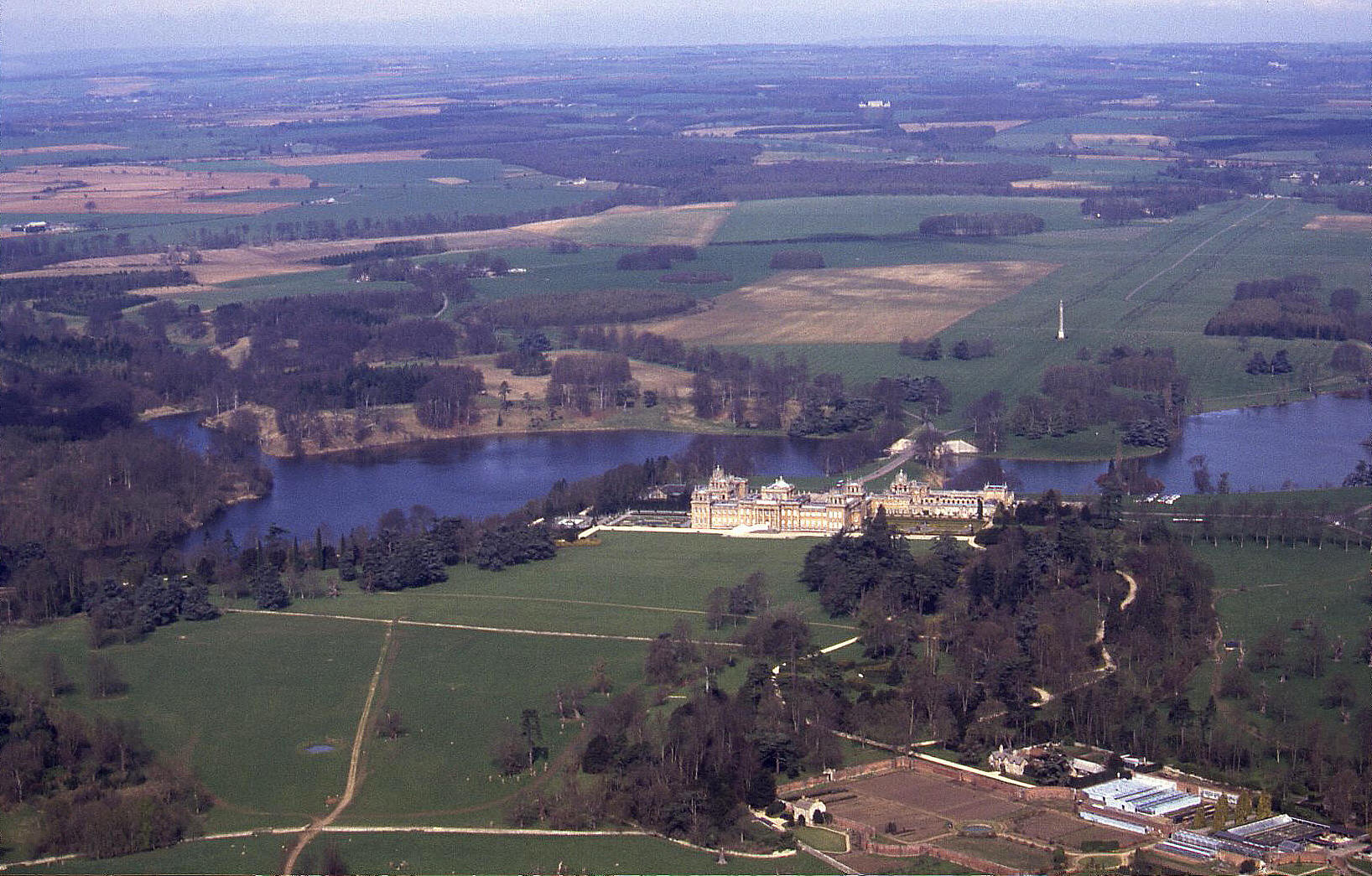 Blenheim Palace & park, Oxfordshire, early 1990s