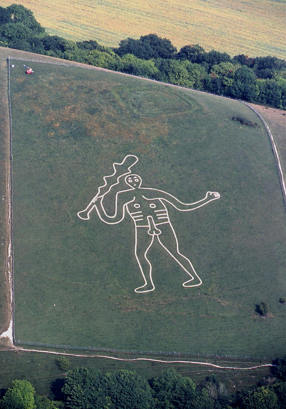 The Cerne Abbas Giant - see note 11