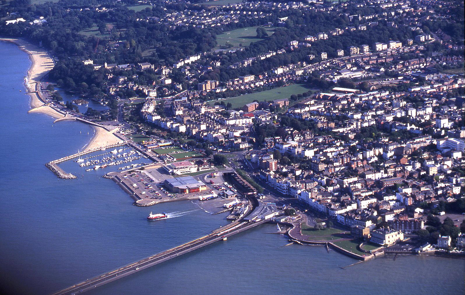 Ryde, Isle of Wight, in September 2000