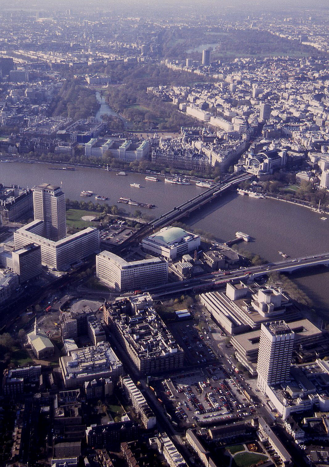 Another view of central London in 1993