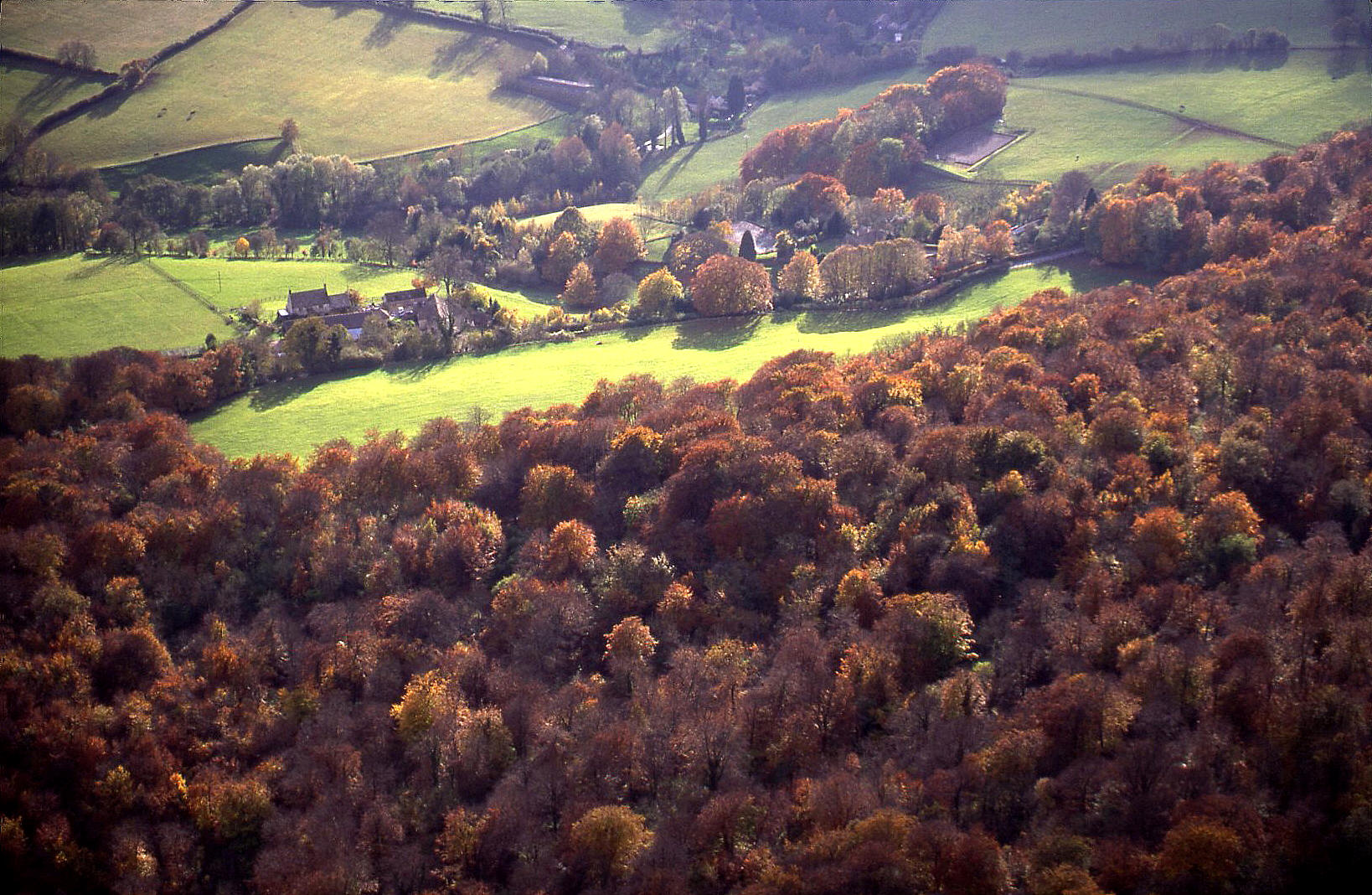 Autumn in the Cotswolds, Gloucestershire