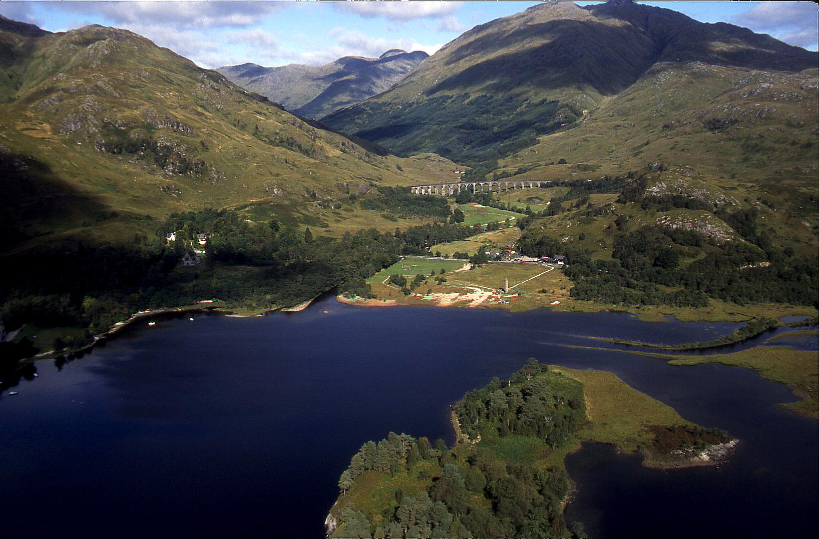Loch Shiel, Glenfinnan beyond, September 2002