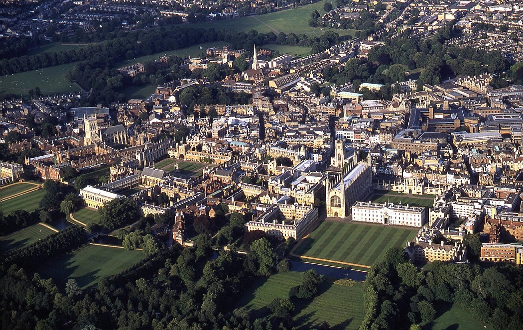 Cambridge colleges in July 2001