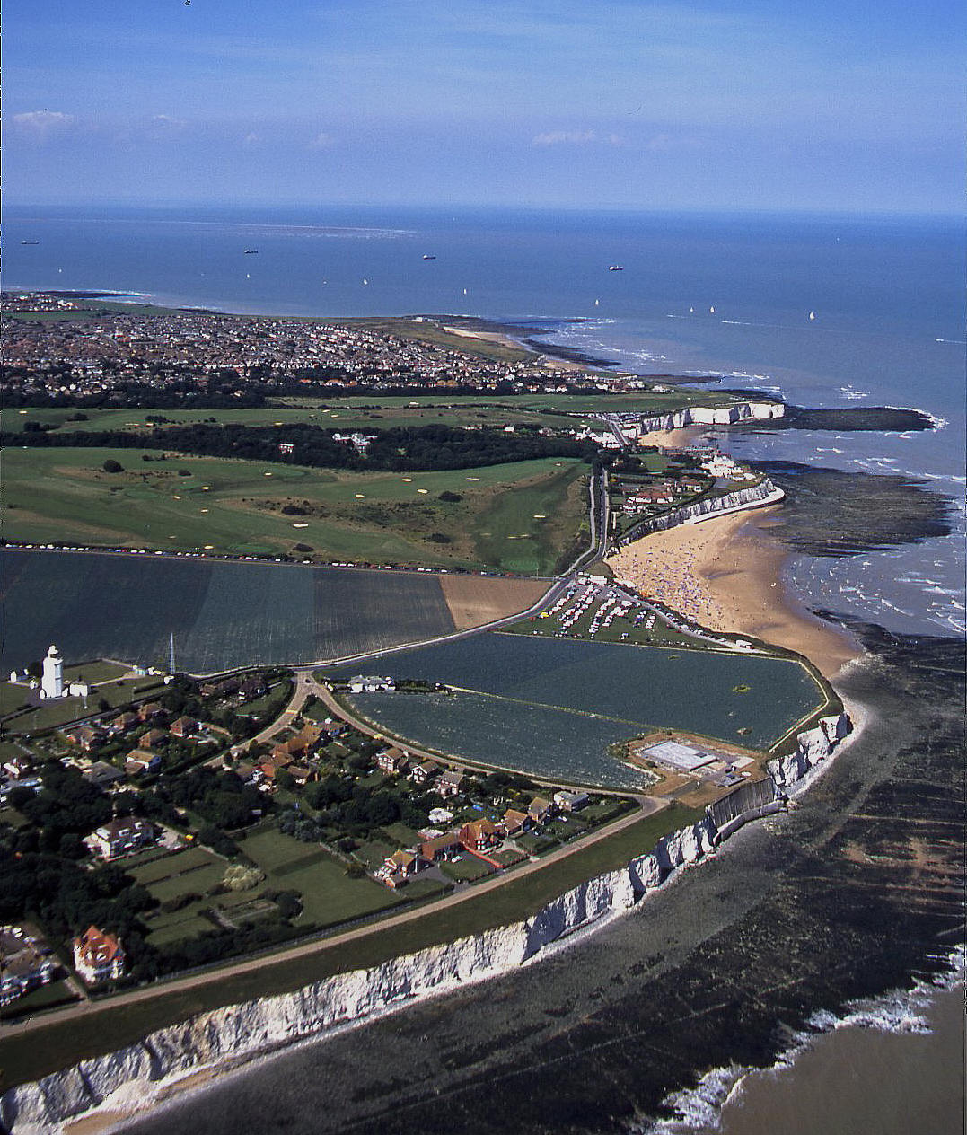 North Foreland on the NE corner of Kent