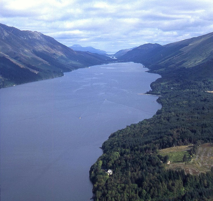 Loch Lochy, Loch Ness beyond in the Great Glen