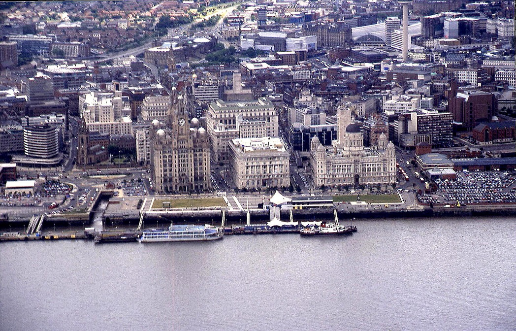 The centre of Liverpool, in 2003