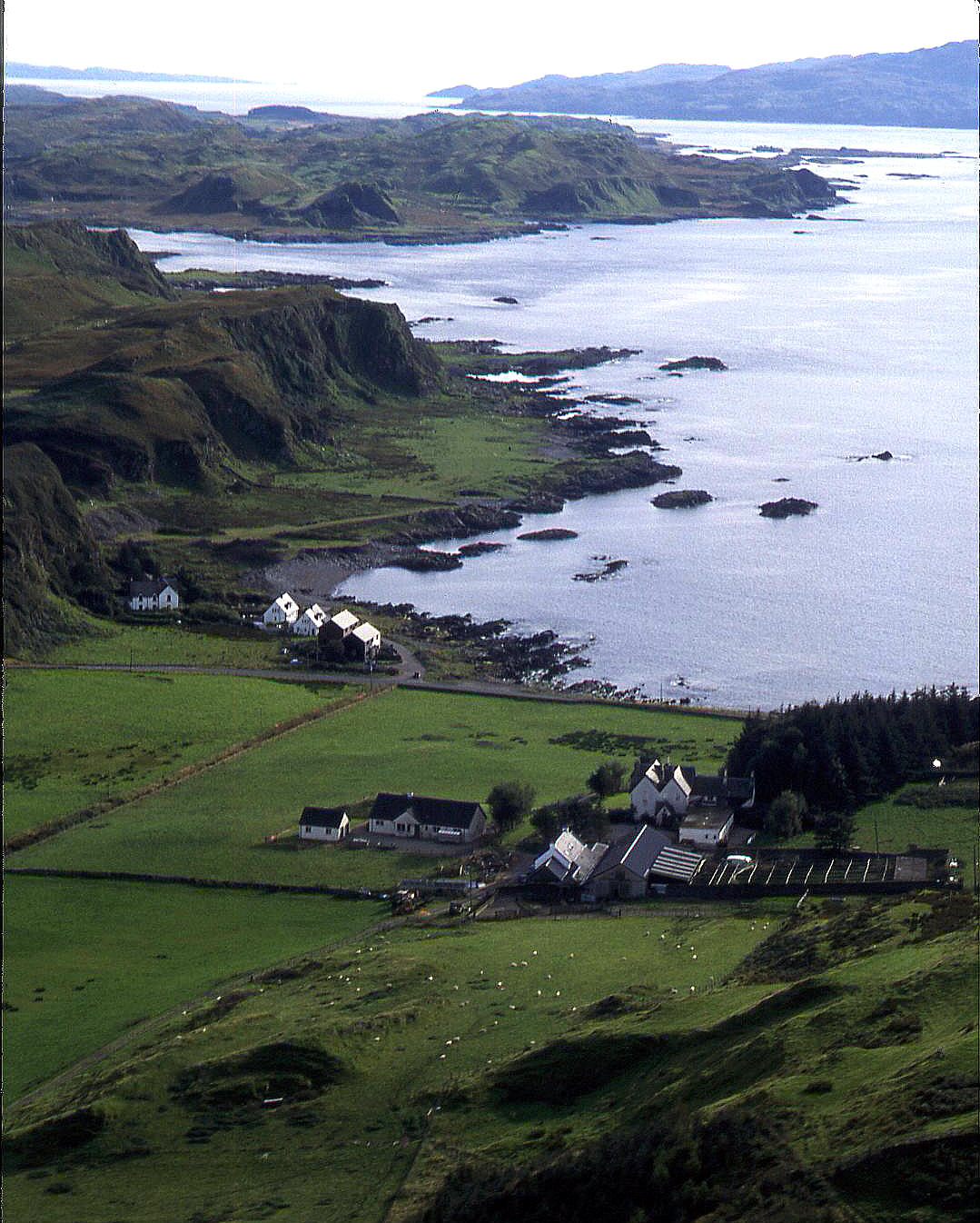A view en route to Loch Awe in western Scotland, 2002