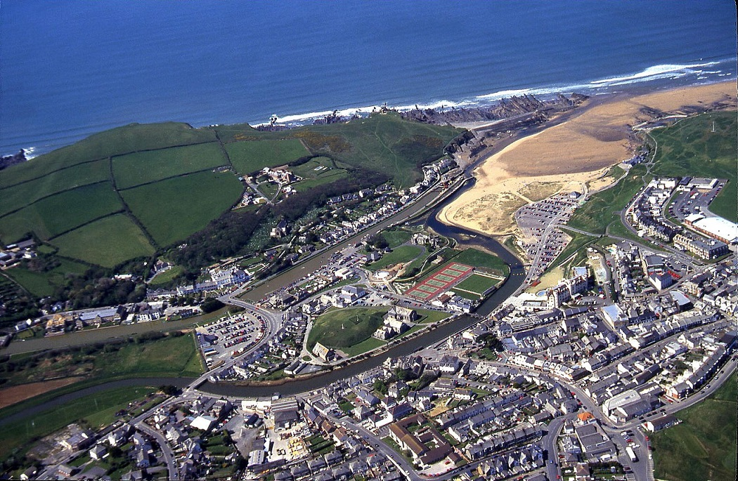 Bude, Cornwall, April 2000