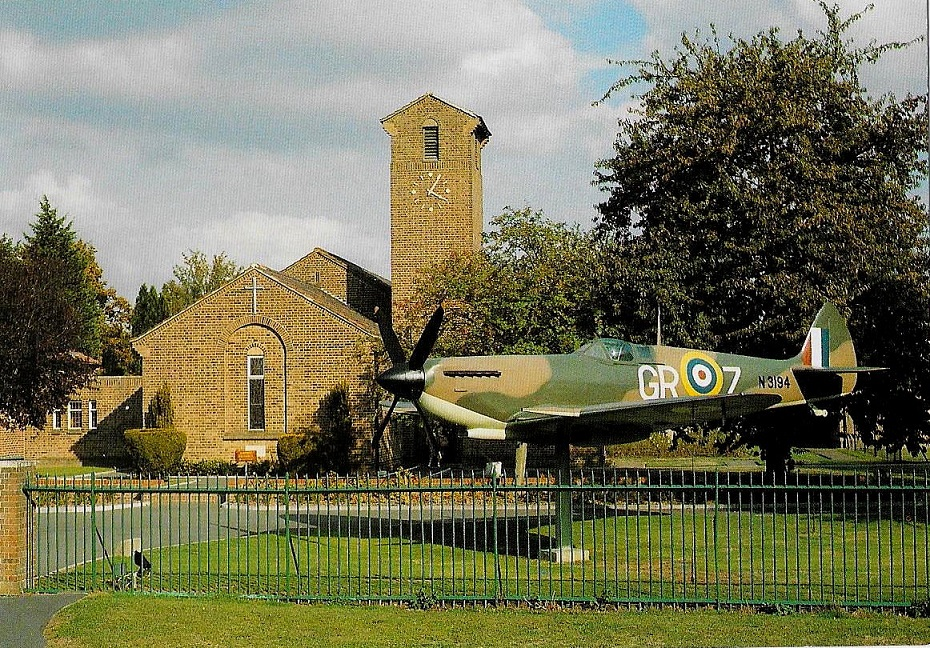 The Spitfire N3194 of 92 Squadron