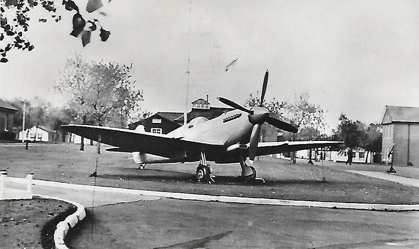 The Spitfire gate guardian from 1953 to 1958