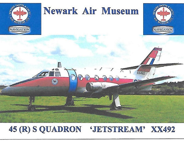 The Jetstream XX492