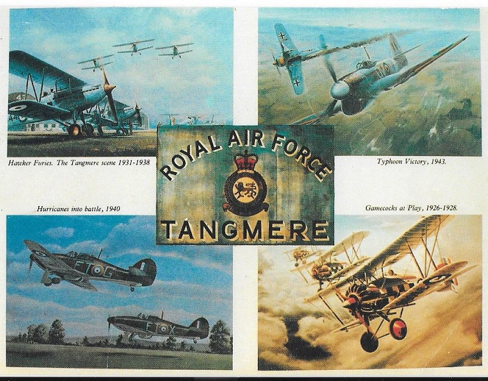 Illustrations of Tangmere aviation history