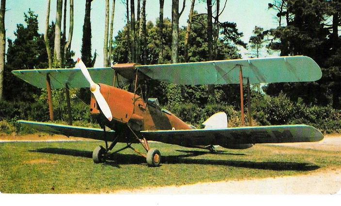 The de Havilland DH82A Tiger Moth G-ANSM