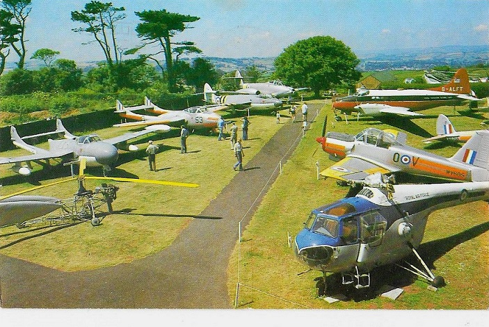 A general view of the outside aircraft parc