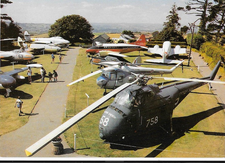 A later view of the aircraft on display