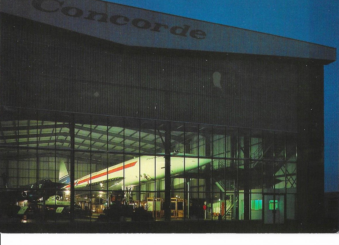 The 'Concorde Hall' at night