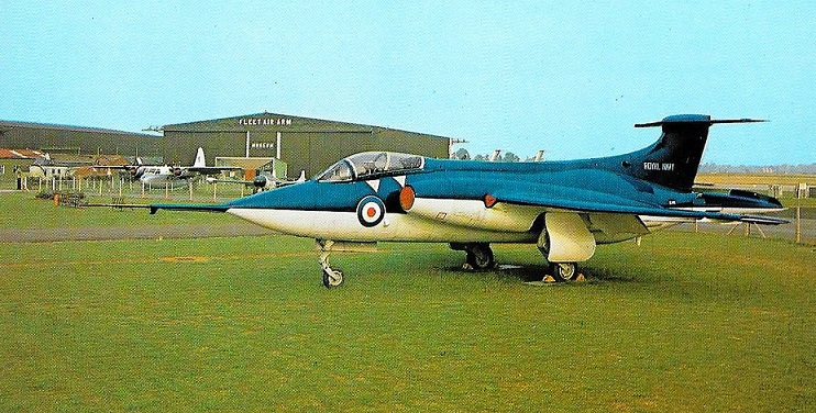 Another view of the Blackburn NA.39 prototype XK488