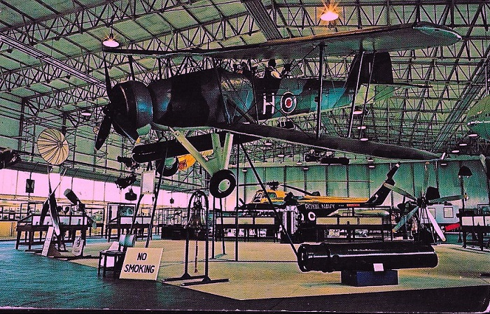 Fairey Swordfish II, probably HS618?