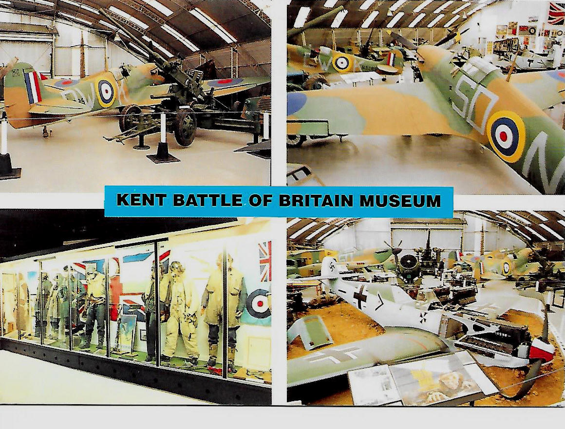 The Spitfire and Hurricane and other items in the collection