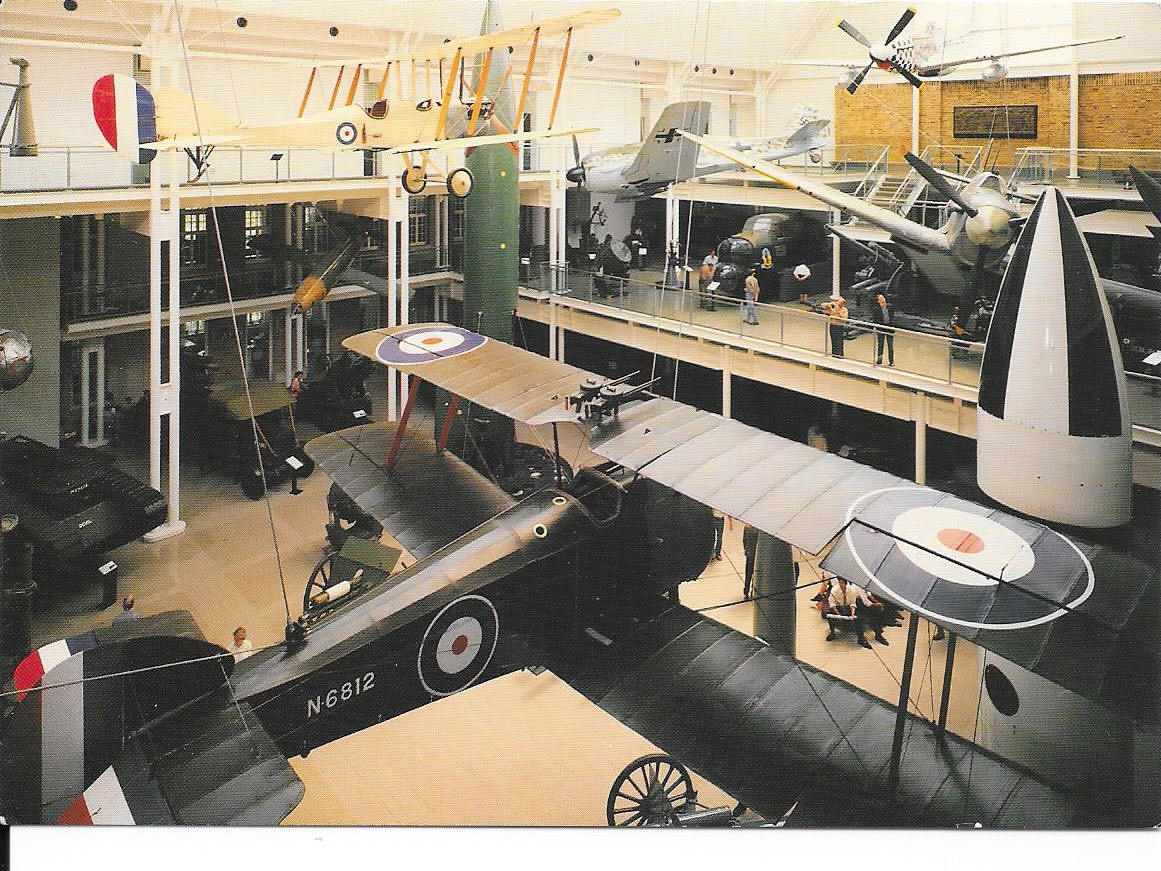 An overall view of the aviation collection