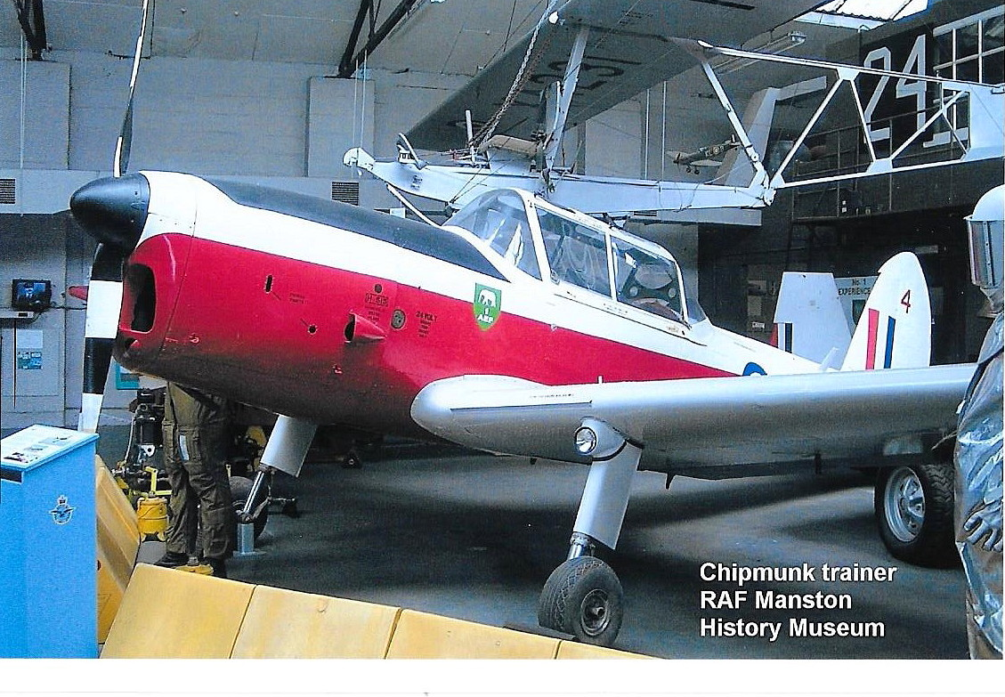 The DHC.1 Chipmunk T.10  WP772
